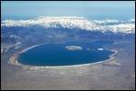 aerial of Mono Lake