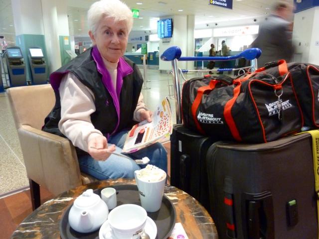 Waiting at Birmingham Airport