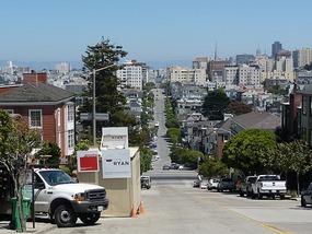 Stijle straatjes in SF