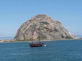 Morro Rock in Morro Bay
