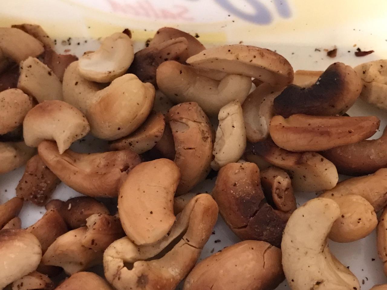 Cashews home roasted