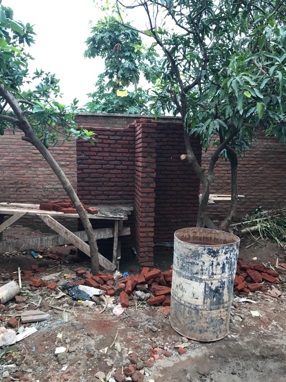 Water tank construction begins