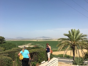 Overlooking the Valley of Jezreel
