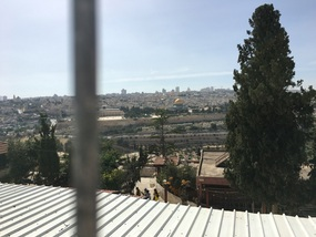 Temple Mount from just above the catacombs