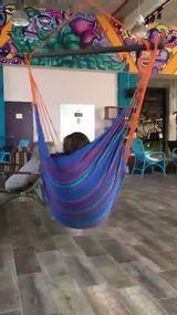 Lena's Sabbath oasis: a hammock