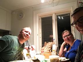 Late night Swedish smorgasbord