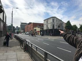 Amiens Street in Dublin