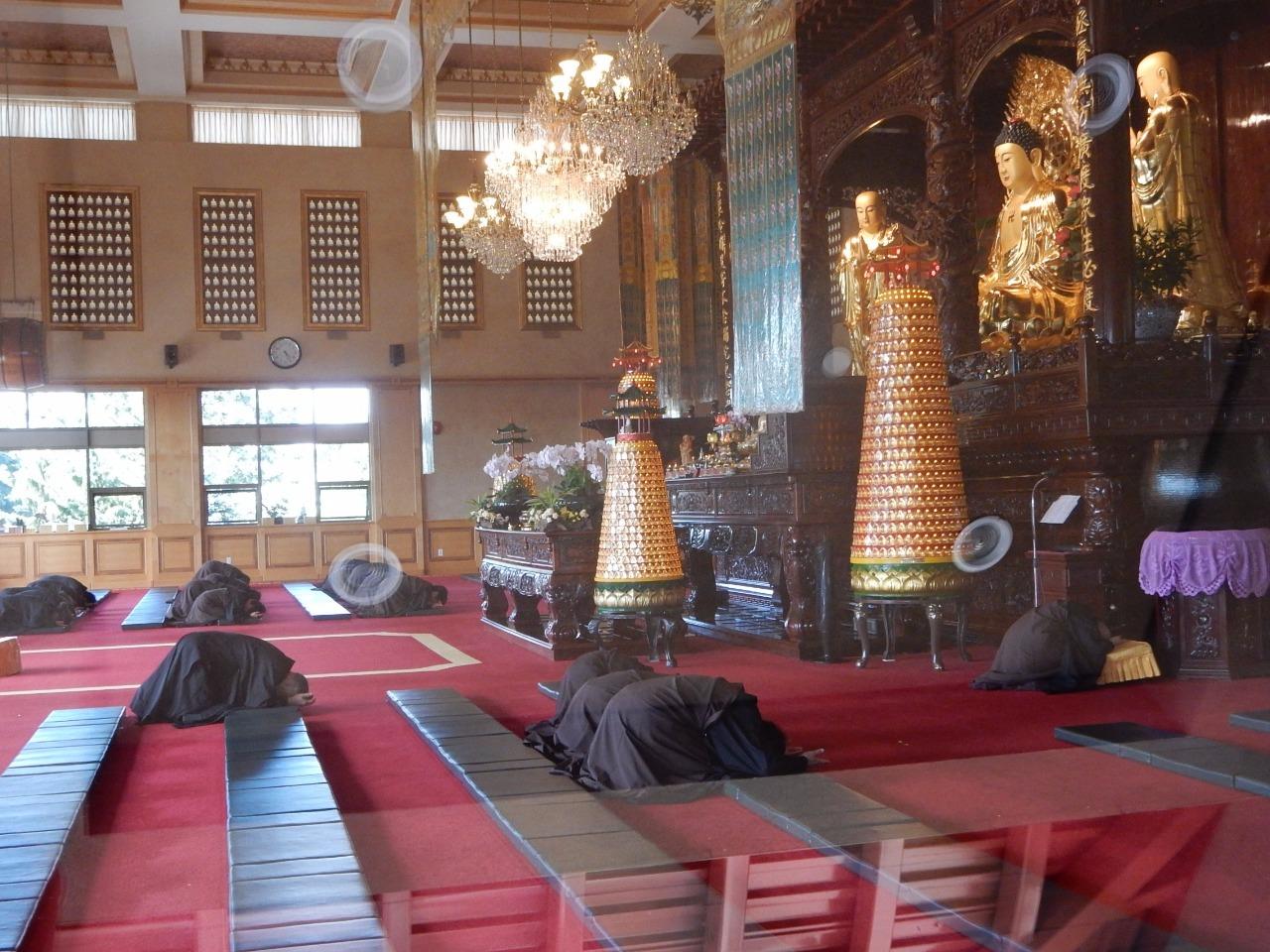 Kneeling Monks