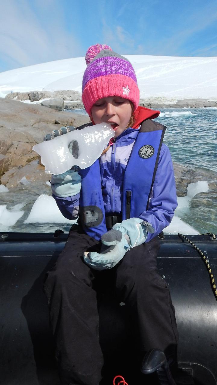 "ERIN: Taking an ""ice drink"""