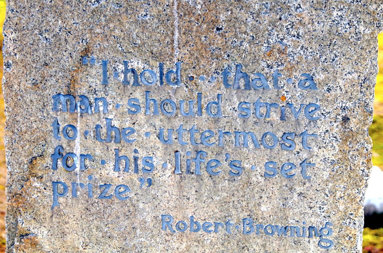 ROBERT BROWING QUOTE