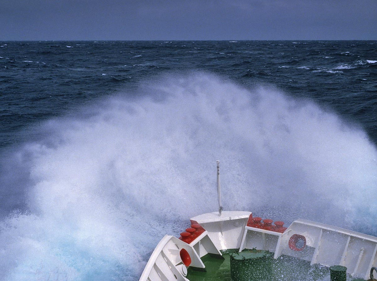 "A ""TYPICAL"" DAY ALONG THE DRAKE PASSAGE..."