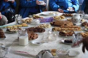 English Tea Time at the Pole-Evans Homestead