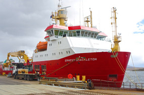 ERNEST SHACKLETON Antarctic Research Vessel