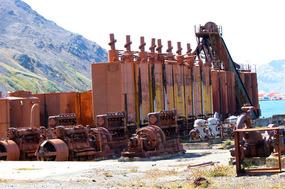 Grytviken machinery