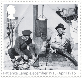 Commemorative Stamp honoring their ice journey...