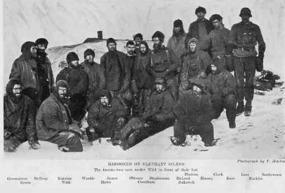 Shackleton's Men Marooned on Elephant Island...