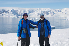 Checked off ANTARCTICA... AND STILL FRIENDS !