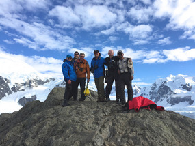 ROGER & ZEGRAHM STAFF - ON THE THE PEAK...