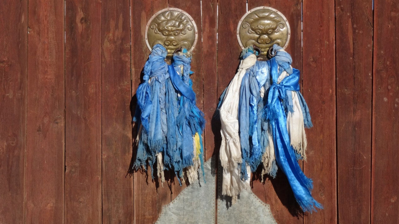 Door knockers at Shankh