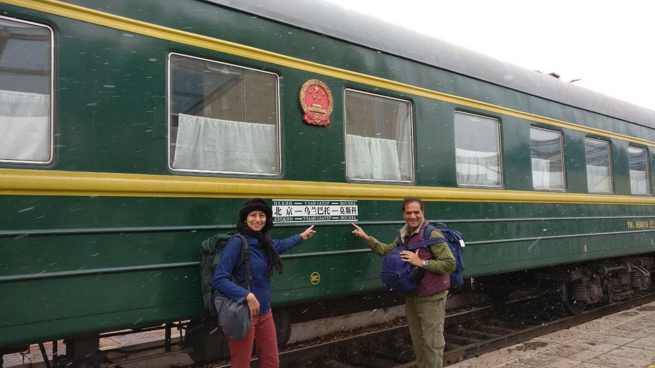Beijing-Ulaan Bataar-Moscow