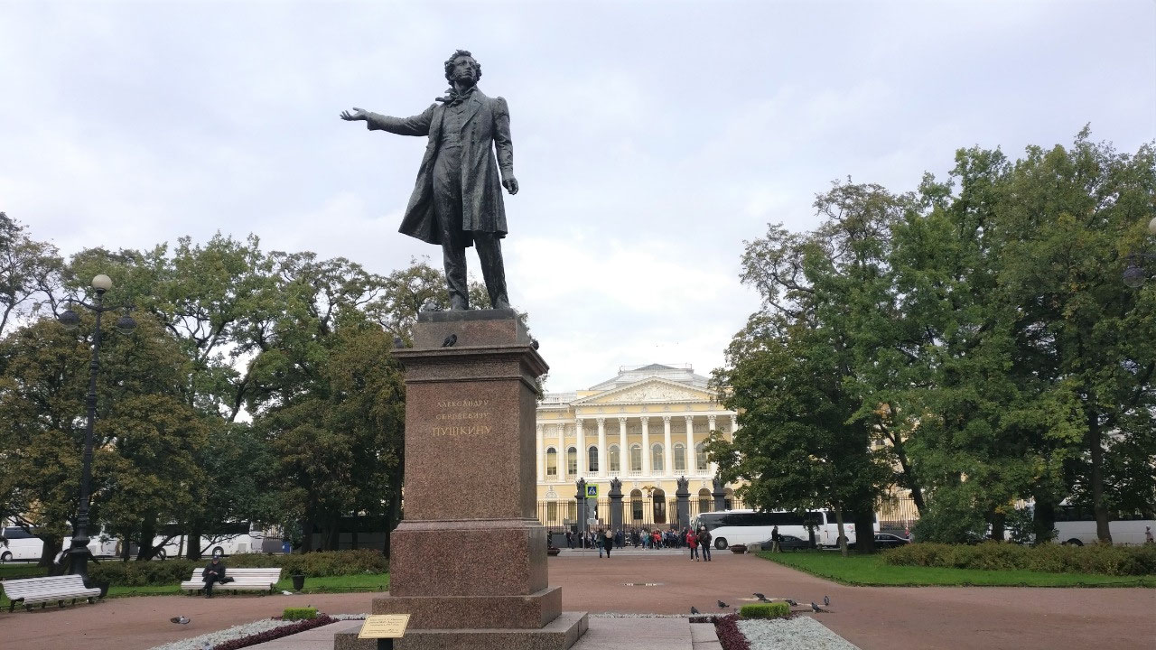 Arts Square, Pushkin and Russian Museum