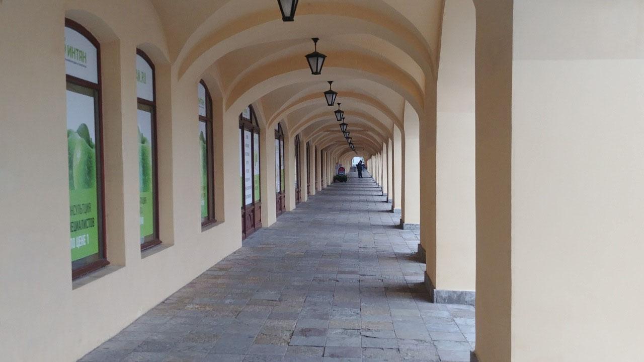 Archways, Vasilevsky Island