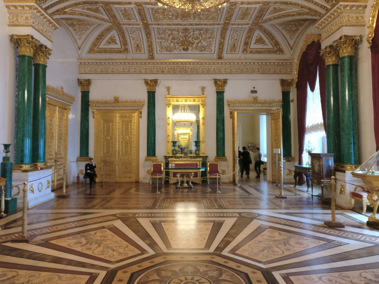 Malachite Room, Hermitage