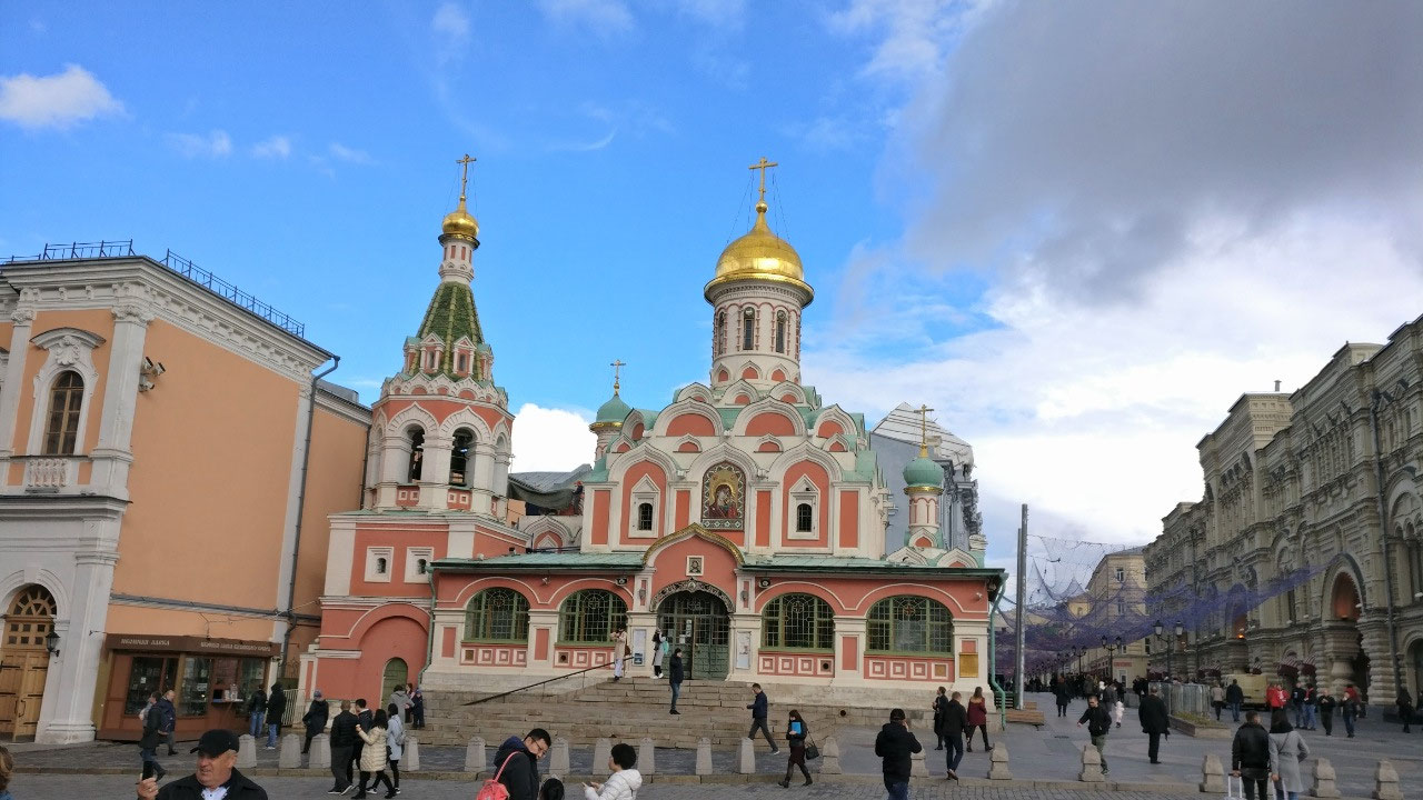 Kazan Cathedral, Red Square