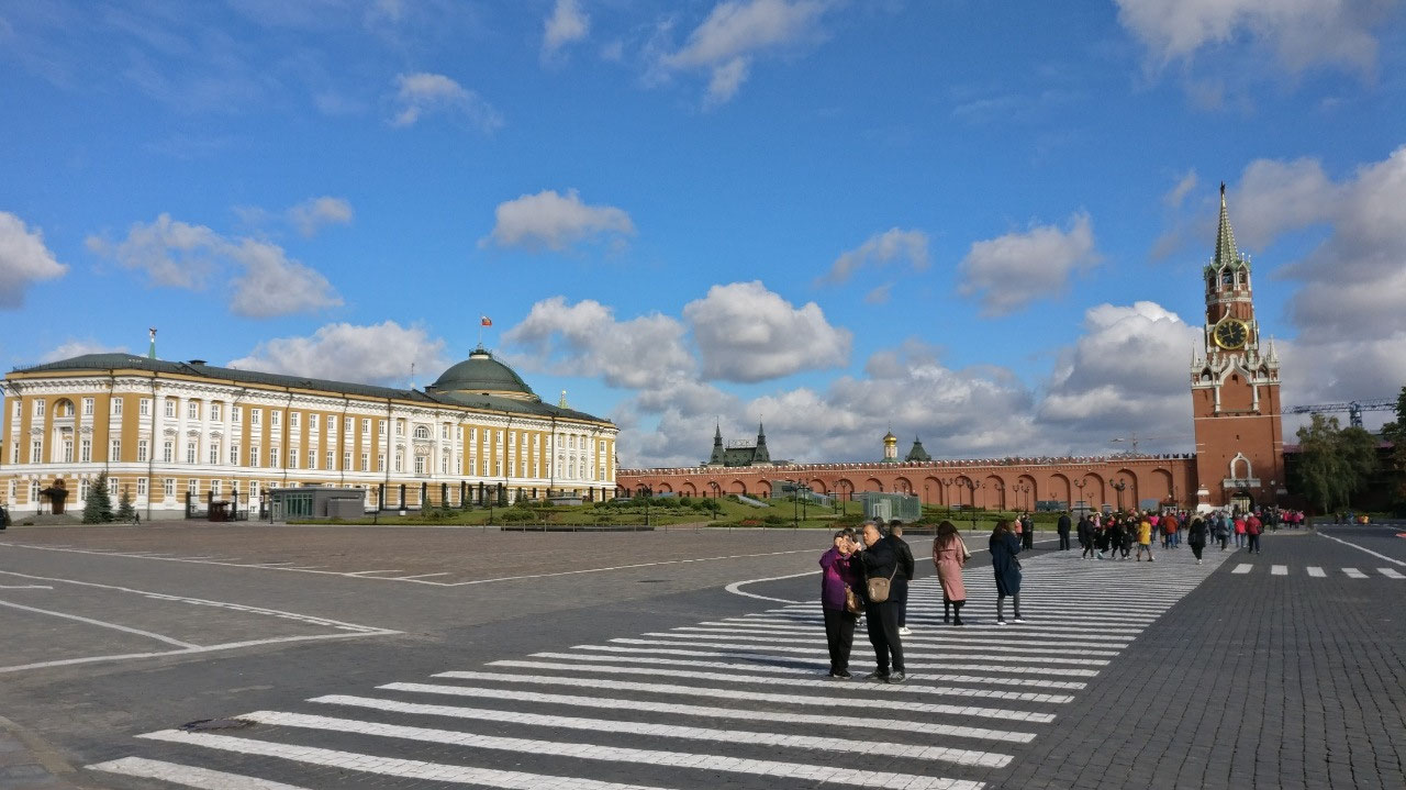 Senate Square - inside the Kremlin Walls