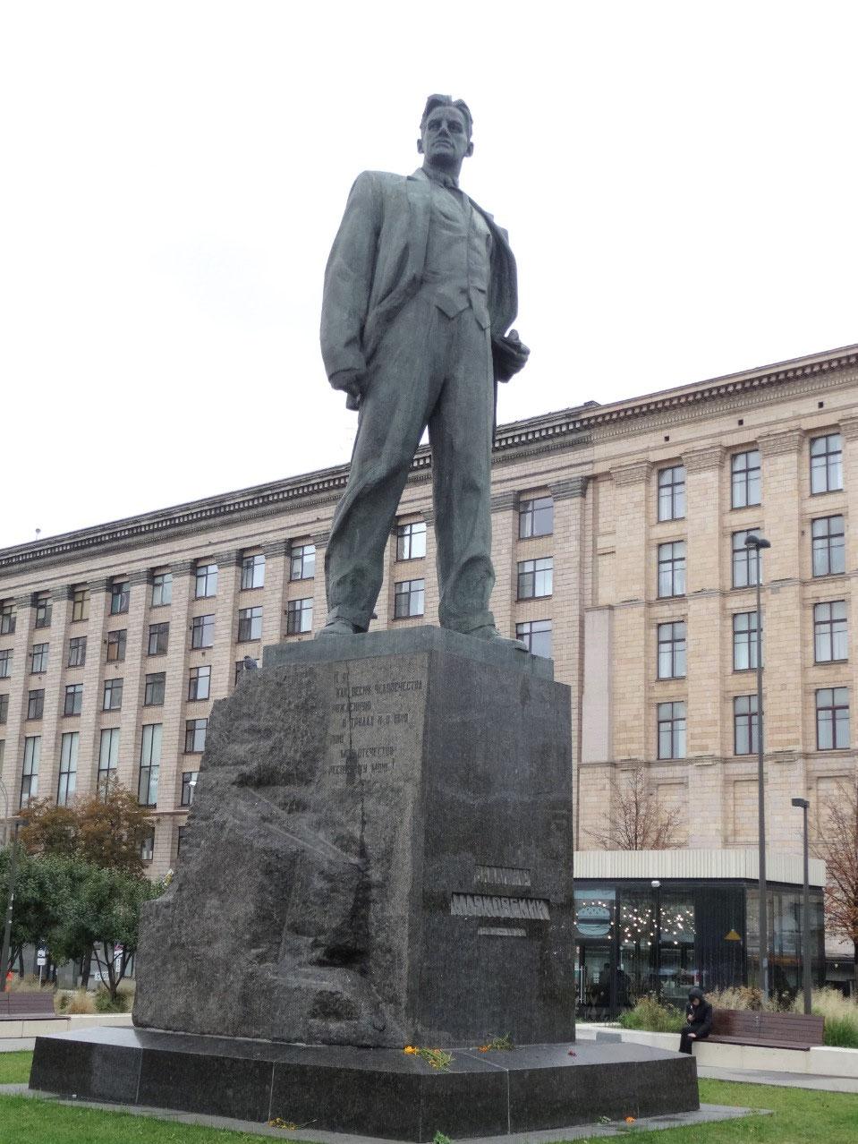 Mayakovsky statue