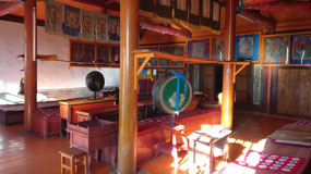 Shankh Monastery inside