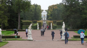 View of the Hermitage - Baroque pavilion