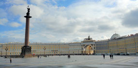 Alexander Column and Palace Square
