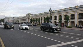 Gostiny Dvor on Nevsky Prospekt