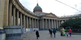 Kazan Cathedral colonnade