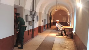 Prison officials (not real!), Trubetskoy Bastion