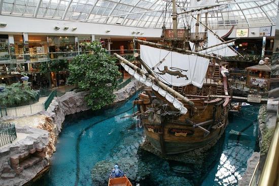 Santa Maria, Edmonton Mall
