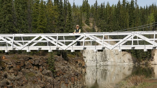 Miles Canyon Suspension Bridge