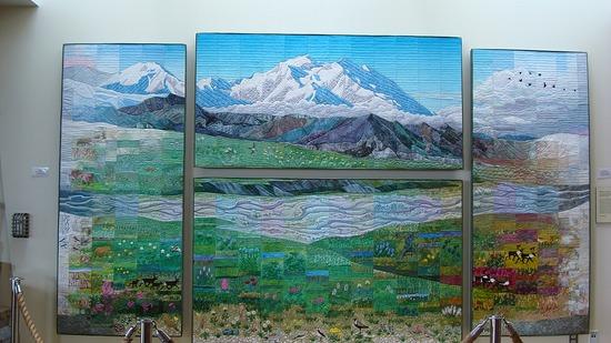 Denali--Eielson Visitor Center Quilt