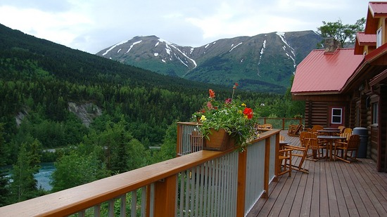 Cooper Landing Princess Lodge view