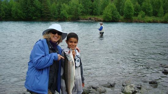 Kenai River Fishing