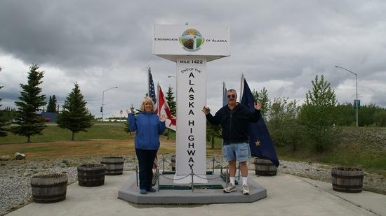 Delta Junction - End of the Alaskan Highway
