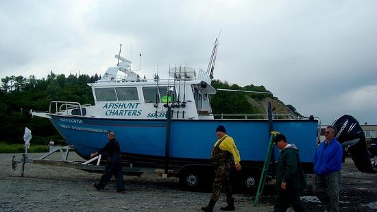 Halibut Fishing Boat