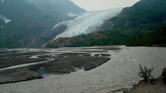 Exit Glacier - River Basin