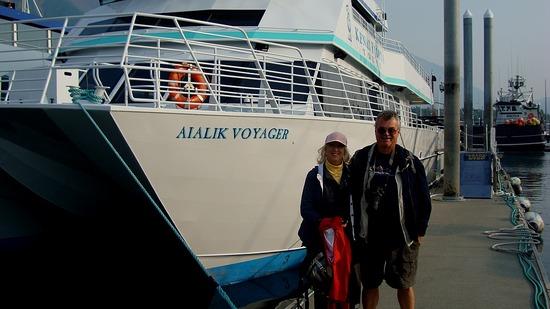 Kenai Fjords Tour Boat.