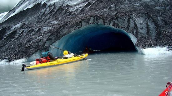 Valdez Glacier - Ice Cave