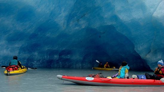 Valdez Glacier - inside Ice Cave