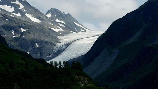 Valdez Glacier Rd - Camicia Glacier