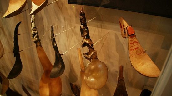 Shelden Jackson Museum - Carved Sheep Horn Spoon