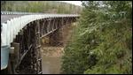 Kiskatinaw River Bridge - Wooden